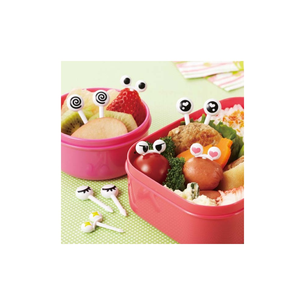 japanese fun eyes ii bento food pick for your lunch box small f. Black Bedroom Furniture Sets. Home Design Ideas