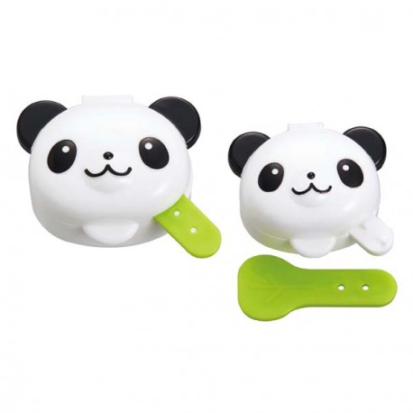 Japanese Bento Condiment Mayo Cup Set of 2 Panda