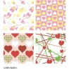 Cute Print Wax Paper Sandwich Wrapping Sheets 32 pcs