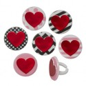 Food Decorating Ring Valentines Heart