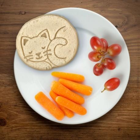 Pocket Sandwich Cutter and Sealer Cat