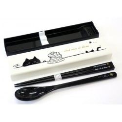 Japanese Portable Cutlery Set - Spoon and Chopsticks