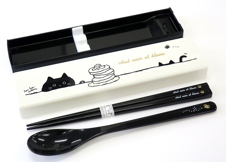 Japanese Portable Cutlery Set Spoon And Chopsticks For