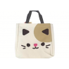 Japanese Bento Accessories Bento Bag Cute Animal Face Cat