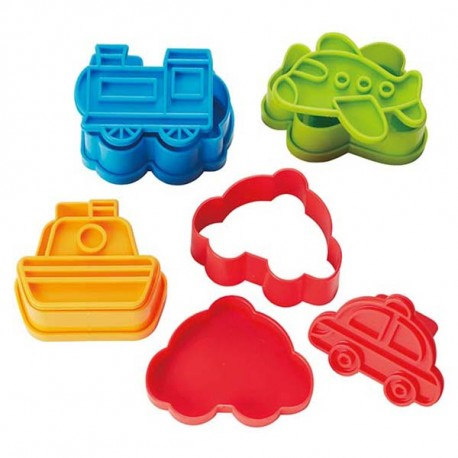 Japanese Bento Accessories Sandwich Cutter Car Ship Plane Train Fo