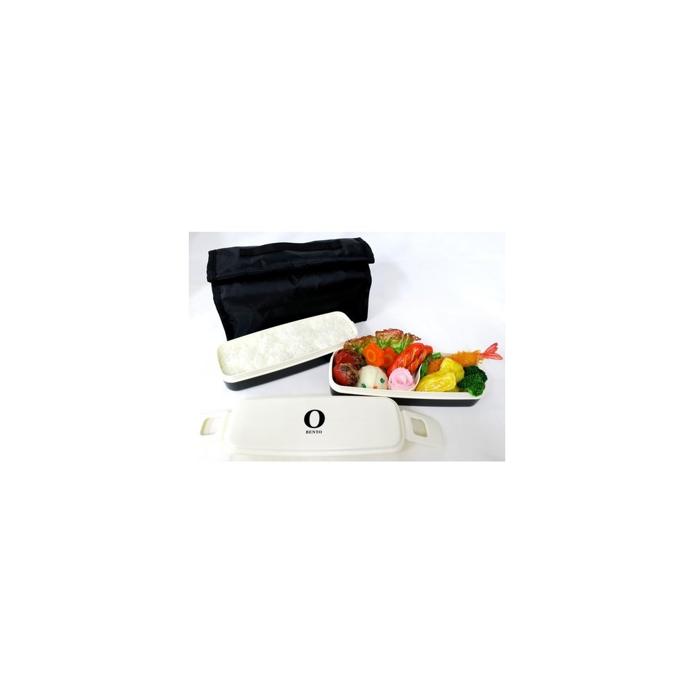 2 tier men bento lunch box set with chopsticks and removable divide. Black Bedroom Furniture Sets. Home Design Ideas