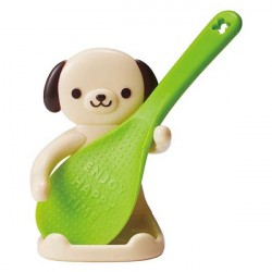 Cute Dishwasher Safe Non Stick Rice Scoop and Stand