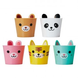 Party 120ml Food Cup Animals with Ears