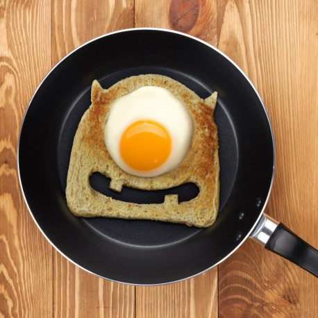 Fun Sandwich Bread Cutter Egg Monster