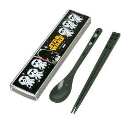 Star Wars Portable Bento Cutlery Set Spoon Chopsticks with Case