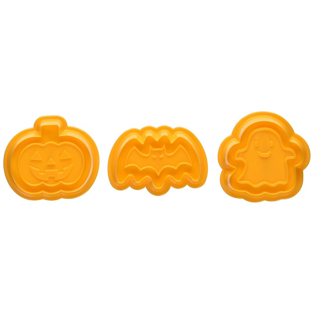 Japanese Bento Cookie Cutter Stamp Halloween for Bento Accessory -...