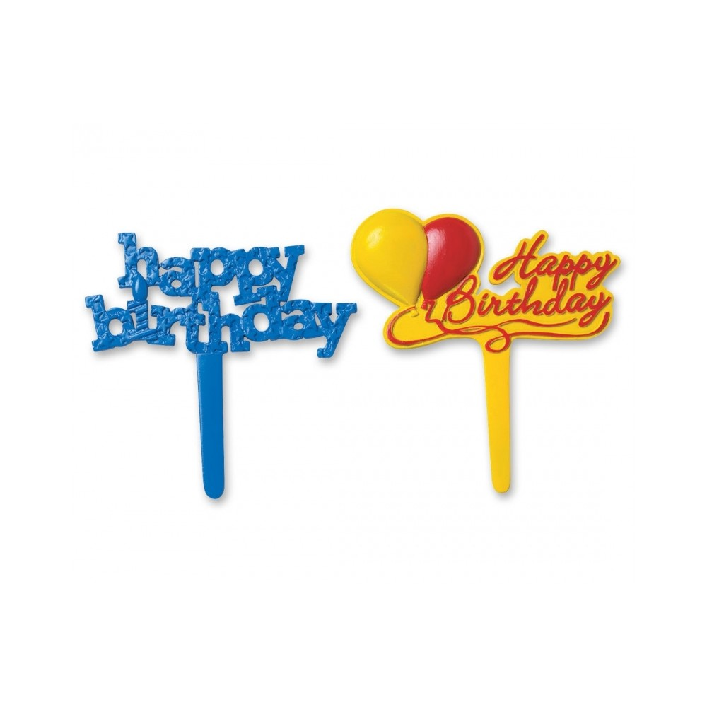 Food Decorating Pick Cute Birthday Party Food Pick For
