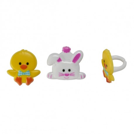 Food Decorating Ring Duck and Rabbit Bunny