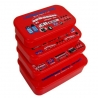Microwavable Bento Box Lunch Box 4 Nesting Container Double Decker Bus
