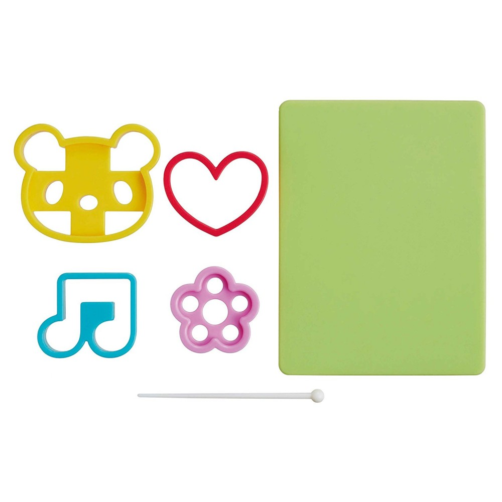 Seaweed Nori Cutter Set Panda Heart Music Note And Flower For Seaw