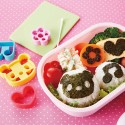 Seaweed Nori Cutter Set Panda Heart Music Note and Flower
