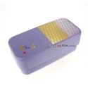 Japanese Bento Box 2 tier Lunch Box Purple Large