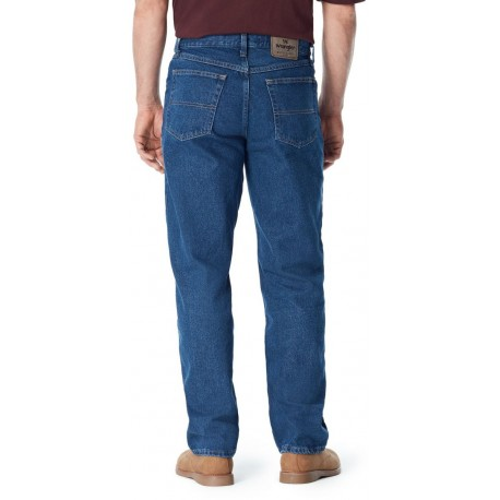 Wrangler Men's Big-Tall Authentics Classic Relaxed-Fit Jean, 44 x 29, NEW