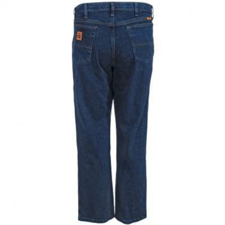 NEW Wrangler Men's Jeans FR Flame Resistant Advanced Comfort Relaxed-Fit Jeans, 36 x 34