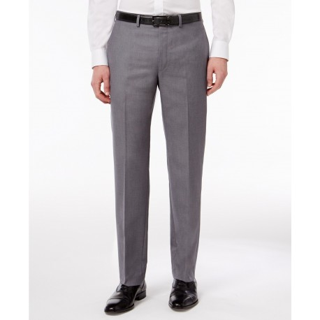 Calvin Klein Men's X Performance Slim Fit Flat Front Dress Pant 36W X 32L NEW