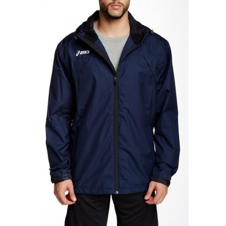 ASICS Men's Summit Jacket darker Navy Blue Small