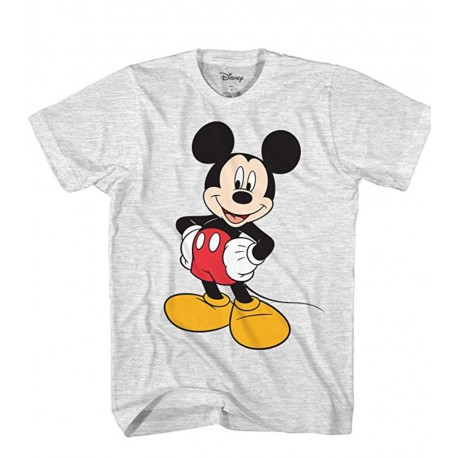 Disney Men's New Classic Mickey Mouse Full Size Graphic Short Sleeve T-Shirt XL