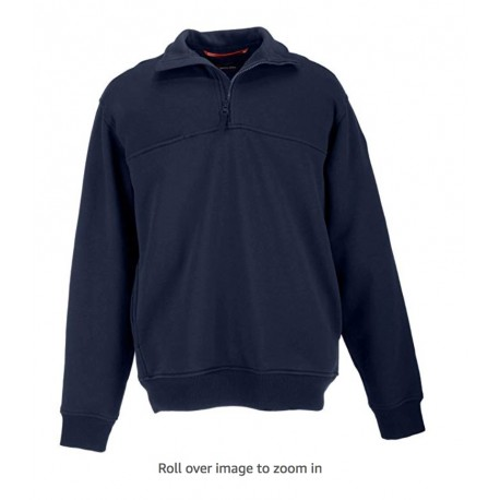 NEW 5.11 1/4 Zip Job Shirt Pullover for EMS Professionals EMT with Chest Break-Through Pocket Fire Navy Size M