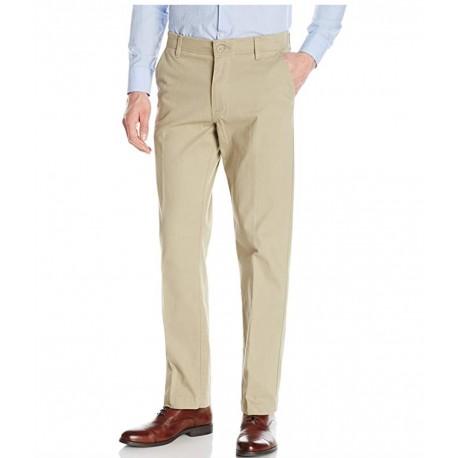 LEE Men's Performance Series Extreme Comfort Khaki Pant 33 x 32