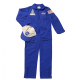 New NASA Flight Suit, Blue, with Embroidered Hat Size 8-10