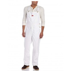 New Dickies Men's Painters Bib Overall 100% Cotton with Elastic Shoulder Straps 36 x 30