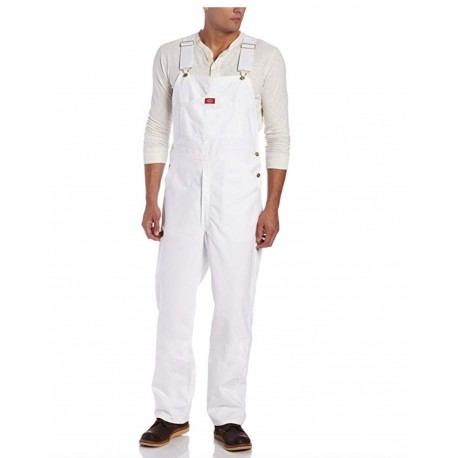 Dickies Men's Painters Bib Overall 100% Cotton with Elastic Shoulder Straps 36 x 30