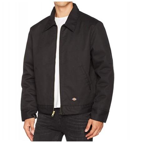 NEW Dickies Men's Insulated Eisenhower Front-Zip Jacket Water Resistant Work Jacket Size Med