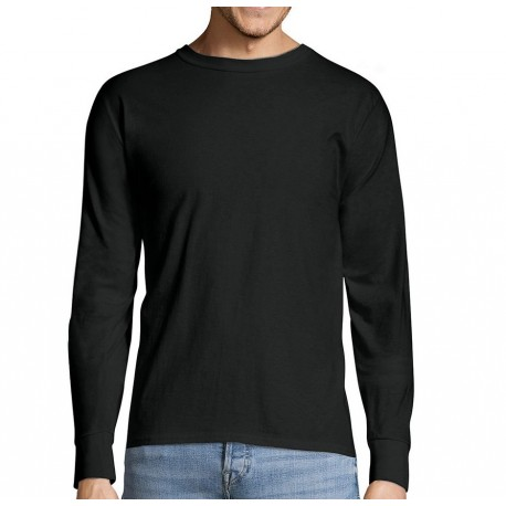 Hanes Long-Sleeve Heavyweight T-Shirt Size XL