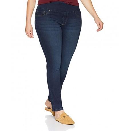 NEW LEE Women's Plus Size Sculpting Slim Fit Skinny Leg Pull on Jean Size 16W