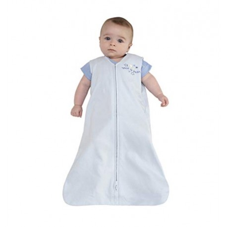 HALO SleepSack 100% Cotton Wearable Blanket Baby Blue X-Large