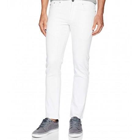 White Southpole Men's Flex Stretch Basic Twill Rinse Denim Pants 32 x 30