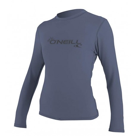 NEW O'Neill Women's Basic Skins Upf 50+ Long Sleeve Sun Shirt XL