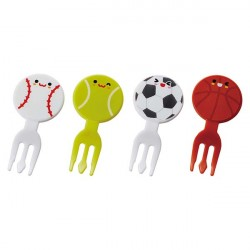 Made in Japan Bento Food Pick Fork Pick Ball 4P