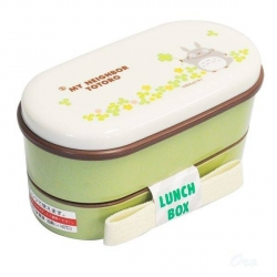 Microwavable Japanese Bento Box Lunch My Neighbor Totoro 2 Tier