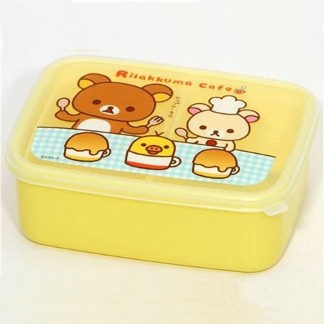 Rilakkuma Japanese Bento Box Lunch Box With Removable Sections