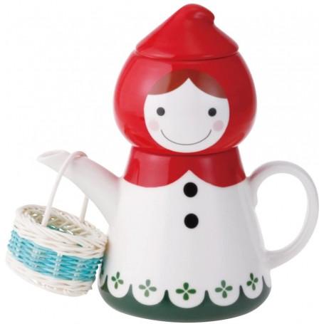 Ceramic Tea for One Red Riding Hood Set