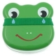 Japanese Bento Box 2 tier Lunch Box with Strap Frog Face