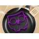 Breakfast Silicone Egg Cooking Mold - Funny Side Up