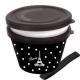 Japanese Microwave Safe 2-tier Paris Bento Box