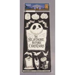 Nightmare Before Christmas Glow in the Dark Stickers 6