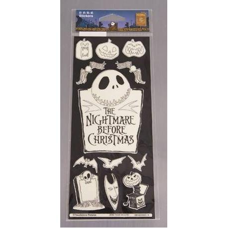 Nightmare Before Christmas Glow in the Dark Stickers 6