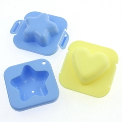 Japanese Bento Hard Boiled Egg Mold Star Heart for Bento Decoration
