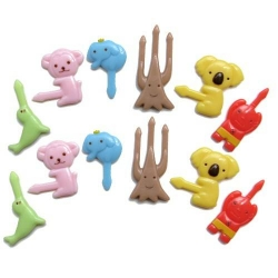 Japanese Bento Food Pick Animal 12 pcs