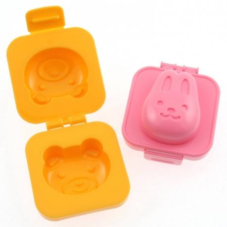 Japanese Bento Accessory Egg Mold Rabbit Bear for Bento Decoration