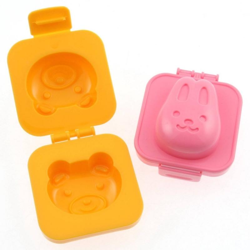 japanese bento accessory egg mold rabbit bear for bento decoration. Black Bedroom Furniture Sets. Home Design Ideas